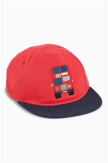 Red Bus Cap (Younger Boys)