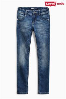 Mid Blue Levi's® Anna Skinny Jeans