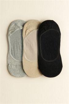 Plain Footsies Three Pack