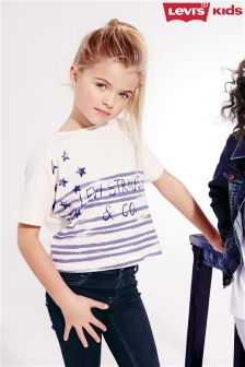 White Levi's® Aspen Oversized T-Shirt