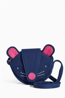 Navy Mouse Across-The-Body Bag