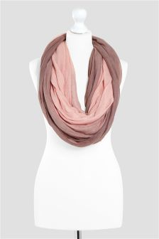 Pink Ombre Snood