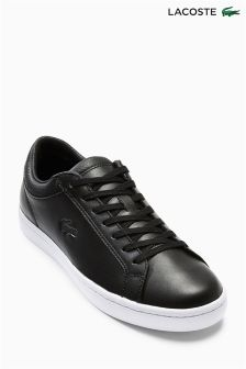 Black Lacoste® Straight Set Pump