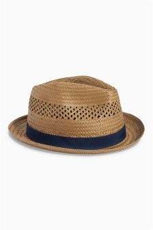 Brown Trilby