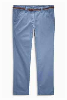 Cropped Chino Trousers (3-16yrs)