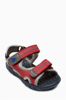 Trekker Double Strap Sandals (Younger Boys)
