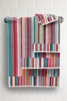 Skinny Striped Towel