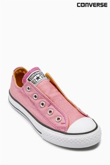 Pink Converse Slip-On Lo