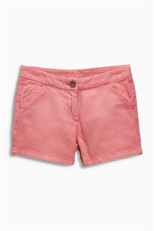 Pink Textured Shorts (3-16yrs)