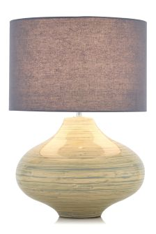 Bamboo Table Lamp With Shade