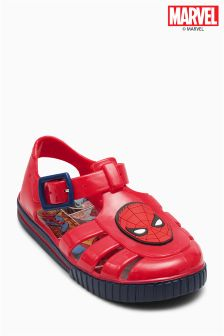Red Spider-Man™ Jelly Shoes (Younger Boys)
