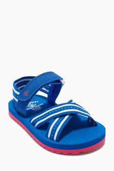 Blue Beach Sandals (Younger Boys)
