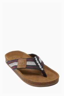 Leather Corkbed Sandals (Older Boys)