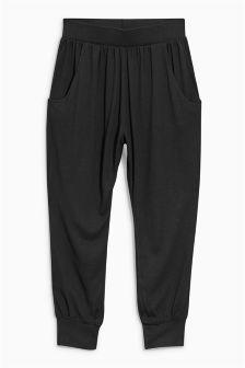 Black Traveller Pants (3-16yrs)