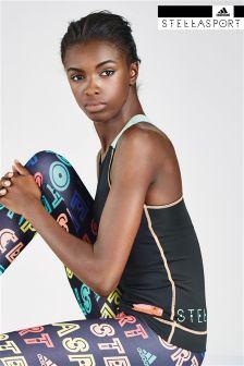 Black Adidas StellaSport Sports Tank
