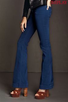Denim Replay® Tina Flared Jean