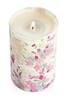 Country Cottage Fragrance Pillar Candle