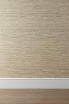 Ochre Seagrass Texture Wallpaper