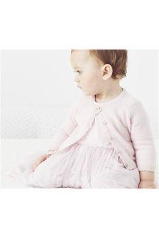 Pink Cashmere Cardigan (0mths-18mths)