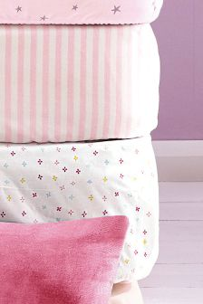 2 Pack Fitted Sheet Set
