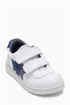 Touch Fastening Strap Bumper Toe Shoes (Younger Boys)
