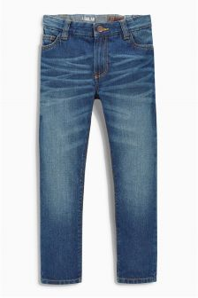 Denim Mid Blue Jeans (3-16yrs)