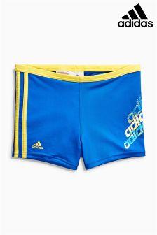 Blue adidas Boxer Performance Swim Trunk Short