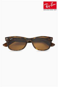Brown Ray-Ban® Tortoiseshell Wayfarer Sunglasses
