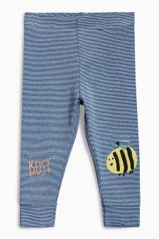 Blue Bee Leggings (3mths-6yrs)