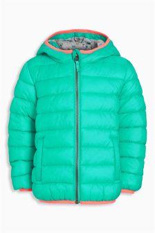 Turquoise Padded Jacket (3mths-6yrs)