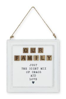Our Family Hanging Frame