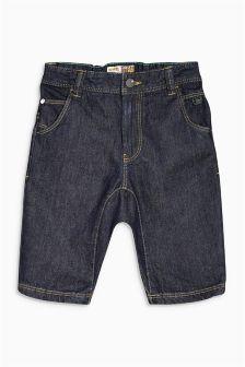 Denim-Shorts in dunkler Waschung (3–16Monate)