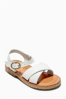 Leather Sandals (Younger Girls)