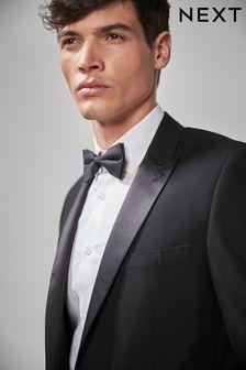 Schwarzer Smoking-Anzug: Sakko