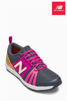 Grey/Pink New Balance WX 811 Training