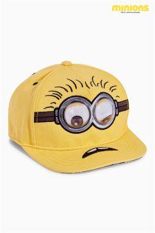 Yellow Minions Goggly Cap (Older Boys)