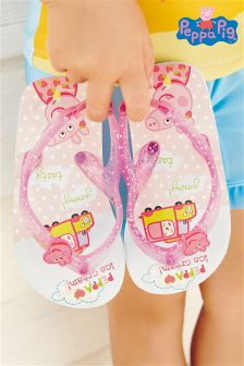 Pink Peppa Pig™ Flip Flops (Younger Girls)