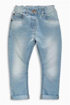 Light Blue Soft Jeans (3mths-6yrs)