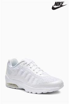 White Nike Air Max Invigor