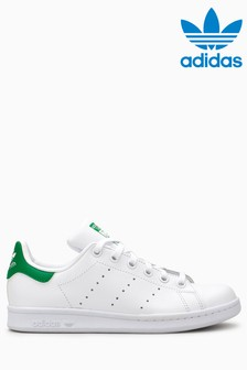 White/Green adidas Originals Stan Smith