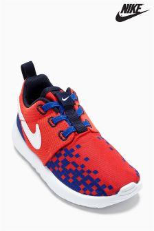 Red Nike Print Roshe