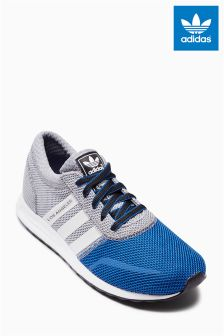 Grey/Blue adidas Originals Los Angeles