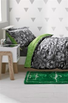 Football Print Bed Set