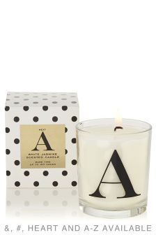 Alphabet Filled Scented Candle