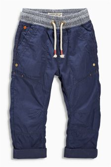 Lined Pull-On Trousers (3mths-6yrs)