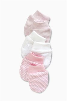 Three Pack Girls Scratch Mitts