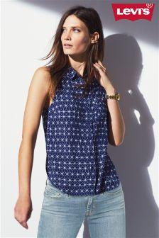 Navy Levi's® Star Print Vest