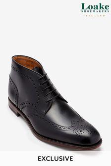 Black Loake Chukka Boot