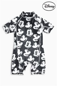 Black & White Mickey Mouse™ Surf Suit (3mths-6yrs)