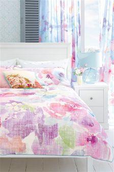 Cotton Floral Bloom Bed Set